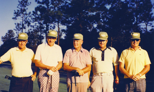 Frank Edge, Robert C. McKelvey, Maj. Gen. Jack Kinney Ret, Plenn H. Phelps and C. Walter Ruckel